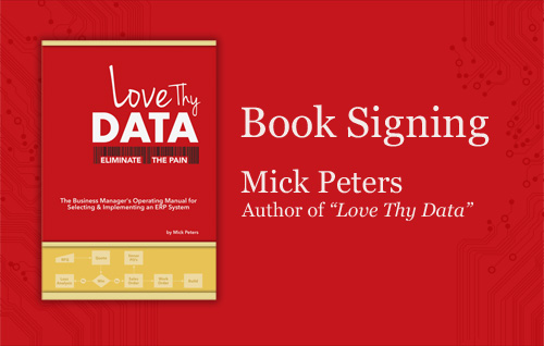 Mick Peter's Book Signing