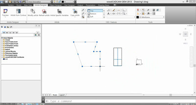 associative contour parametric engineering