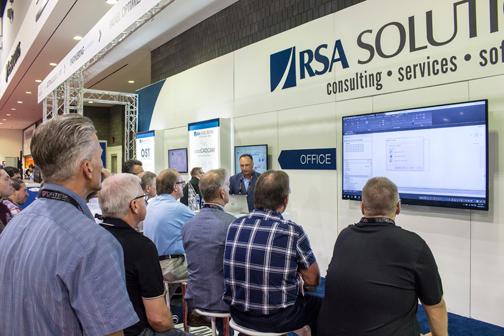 RSA Solutions at IWF 2016 - Product Demo