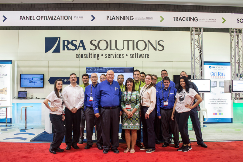 RSA Solutions At IWF 2016 - Team