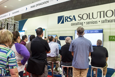 RSA at IWF 2016 - watching production coach demo
