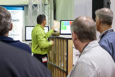 RSA Solutions at IWF 2016 - Kitting Demo in Progress