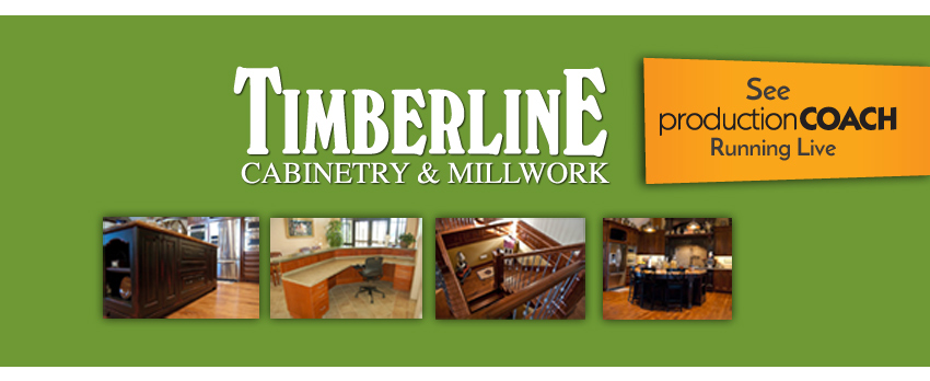 Timberline Cabinetry & Millwork - Lunch Learn Event - See Production Coach Live